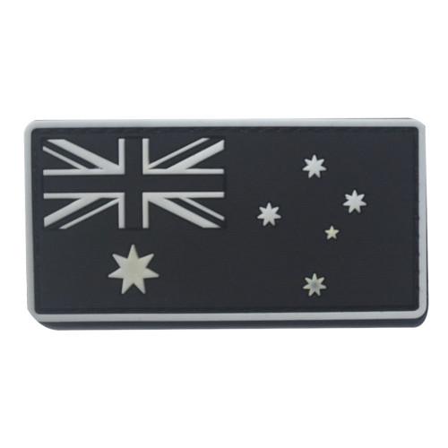 Australia Flag Hook Patch - White Edge