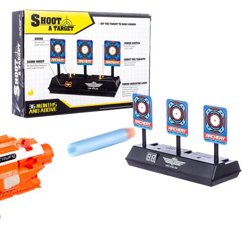 Electric Scoring Practice Return Target for Nerf Toys LZ034 Water Gel Beads Blaster