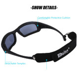 Bulletproof X7 Tactics PC Goggles Eyes Protector with ANSI Z87.1/ANSI Z80.3 Certification - Black