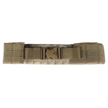 MOLLE Adjustable Tactical Load Waist Belt Waist Padded for Waist Circumference 70-110cm - Tan