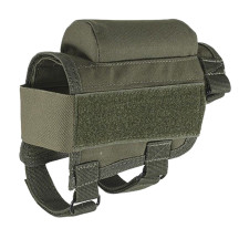 Multifunction Tactical Crown Cheek Rest with Carrier Carrying Case Ammunition for. 300. 308 Winmag - Green