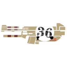 Sticker for UMP45 Gel Toy Blaster