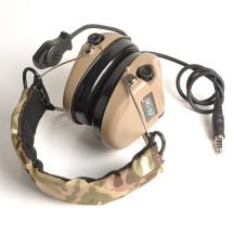 Z-tac Sordin Tactics Headset ComTac Headphone - Tan