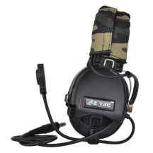 Z-tac Sordin Tactics Headset ComTac Headphone - Black
