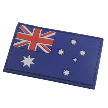 AOTDDOR 5cm×8cm PVC Australian Flag Backpack Clothes Decoration Hook Patch