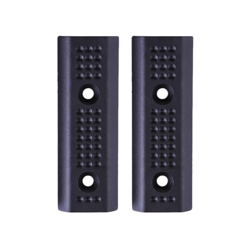 2Pcs Jingji Nylon Keymod Rails Cover Rail Panels for RIS/RAS/Rails with Keymod System - Black