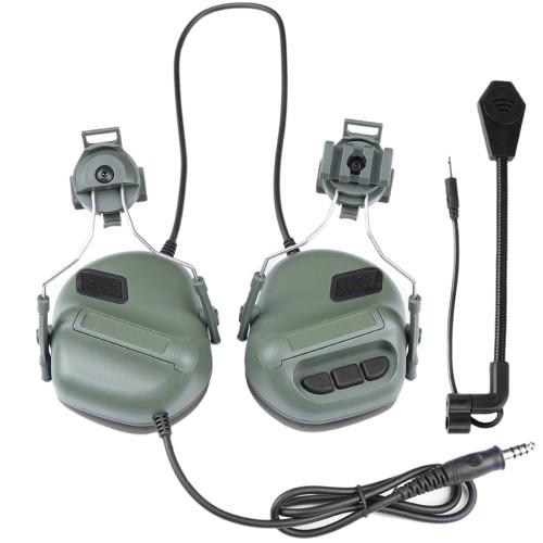 WST Gen.5 Helmet Type Communication Noise Canceling Headphones Sound Pickup Noise Reduction Headset - OD