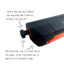 DK Hop Up for RX Desert Eagle Gel Ball Blaster - Black
