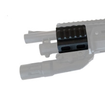 DK Tactical Front RIS/RAS/Rails for M97 Shotgun Gel Blaster - Black