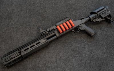 Strike Head+Front Handguard kit for M97 Shotgun Gel Blaster