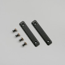Two 8cm M-LOK/Keymod Handguard Rails for Gel Blaster