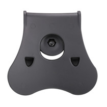 Amomax Tactical Hard Shell Paddle for All Amomax Hard Shell Holsters and Magazine Pouches - Black