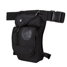 Multifunctional Sports Tactical Waist Bag Climbing Thigh Pack - Black