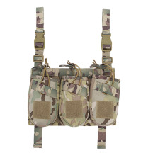 WST 1000D Nylon Tactical Vest AK Triple Magazine Pouch Airsoft Hunting Pouch