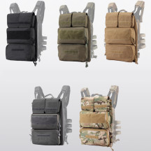 JPC Tactical Zipper Bag Military Backpack Expand Bag Attached Pack Ⅱ