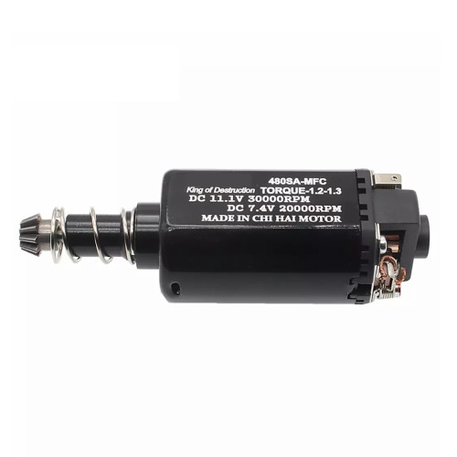 CHF-480SA-MFC DC 11.1V 30000RPM No.2 Gearbox High Speed 480 Long Axis Motor