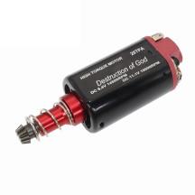 CHF-480WA-28TPA Nd-Fe-B 19000 RPM No.2 Gearbox High Torque 480 Long Axis Motor