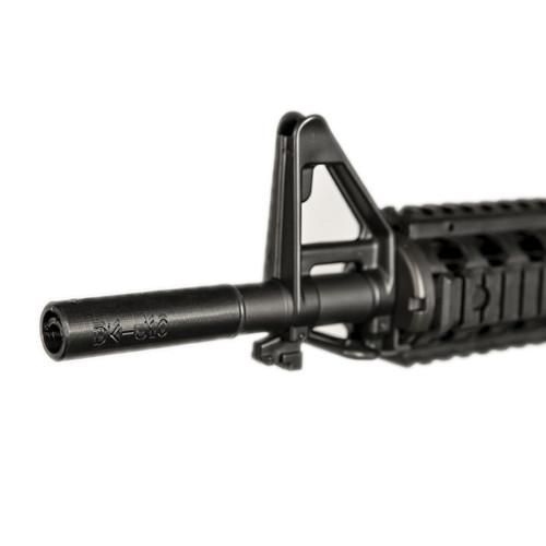 DK Straight Adjustable Hopup for CYMA M4 CQB Gel Blaster - Black