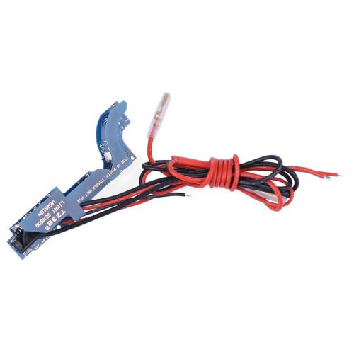 T238 Programmable MOSFET Electric Fire Control Unit Module for XWE G36 / JM 11AK Ⅲ Gearbox