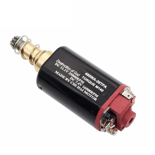 CH 480WA-26TPA Nd-Fe-B 25000 RPM No.2 Gearbox Medium Speed 480 Long Axis AEG Motor