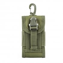 Molle Outdoor Multi-function Waterproof Phone Bag Accessory Kit for CS Wargame - Army Green