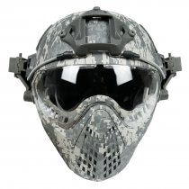 WST Navigator Tactics Camouflage Protecting Helmet for Outdoors Activities - ACU Type M