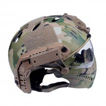 WST Navigator Tactics Camouflage Protecting Helmet for Outdoors Activities - CP Type M