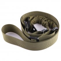 Ordinary Waterproof Anti-tear Two Point Belt - Army Green