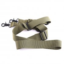 Round Head Waterproof Two Point Belt  - Army Green