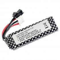 7.4V 1400mah Lithium Battery for Gel Blaster with SM Interface