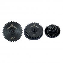 FB 16:1 Steel High Speed Gear Set for FB / JM Gen.8 / JM Gen.9 / JM Gen.10 Gearbox - Black