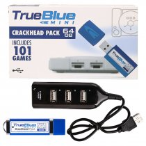 True Blue Mini Crackhead Pack for PlayStation Classic