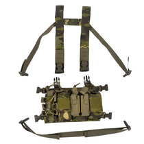 Longrui Light Weight Heavy Duty Utility Training Multi Pocket D3 Carrier Military Chest Rig Vest for Army Hunting Airsoft Shooting