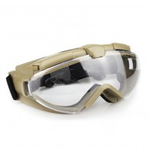 WST Maluyi High Transparency Tactical Goggles for Wargame Cosplay Halloween