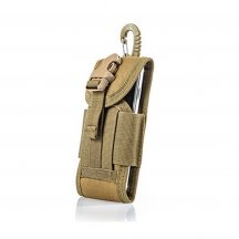 Molle Outdoor Multi-function Waterproof Phone Bag Accessory Kit for CS Wargame - Khaki