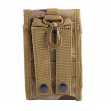 Molle Outdoor Multi-function Waterproof Phone Bag Accessory Kit for CS Wargame - CP Camouflage