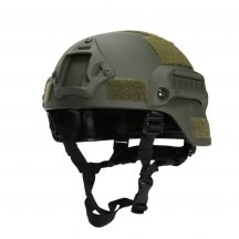 MICH2001 Outdoor Tactical Helmet Protective Anti-riot Lightweight Helmet - Army Green