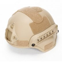 MICH2001 Outdoor Tactical Helmet Protective Anti-riot Lightweight Helmet - Tan