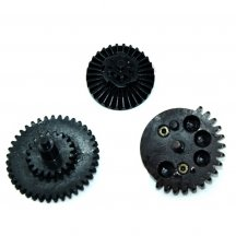 FB Carbon Steel Gear Set for Gearbox Modification - Black(100:300)
