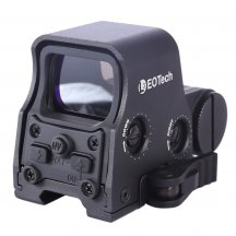 Standard 556 Tactics Holographic Adjustable Red/Green Dot Scope Sight  - Black