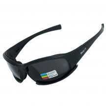Bulletproof X7 Tactical PC Goggles - Black Polarized Light