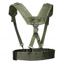 HS Adjustable Tactical Lightweight Belt Harness Set
