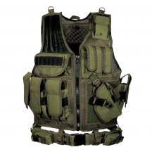 Multi-functional Combination MOLLE Expands Vest Tabby Tactical Vest Protective Vest - Green