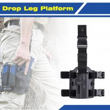 Amomax Tactical Drop Leg Platform Compatible with All Amomax Holsters Magazine Pouches