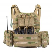 Yakeda JPC Lightweight Tactical Vest with 2L Water Storage Bladder Bag and Hydration Bladder