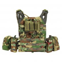 Yakeda JPC Lightweight Tactical Airsoft Vest with 2L Water Storage Bladder Bag and Hydration Bladder