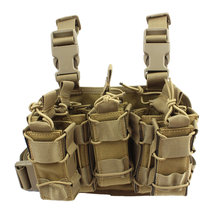 1000D Tactical Mag Pouch MOLLE Tactical Leg Platform for 7.62/9mm Cartridge