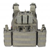 YAKEDA Tactical Vest Outdoor Vest Army Fans Outdoor Vest Expand Training Field Equipment VT6026-1