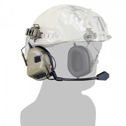 WST Gen 5 Helmet Type Communication Noise Canceling Headphones Sound Pickup  Noise Reduction Headset - T