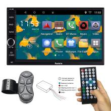 C12 Steering Wheel Control Android 6.0 Head Unit Car Stereo Car GPS Navigation 7 inch Car Radio Touch Screen Bluetooth WIFI Mirror Link Quad Core 1GB RAM 16GB ROM AM/FM/RDS